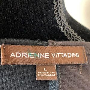 Adrienne Vittadini Dresses - V- Neck Long Sleeve Dress for Cooler Weather